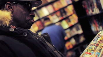 Go Comic Book Shopping w/ Pete Rock At NYC's Forbidden Planet
