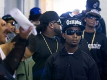"Cast Of ""Straight Outta Compton"" Says Biopic Is ""Beyond Rap"""