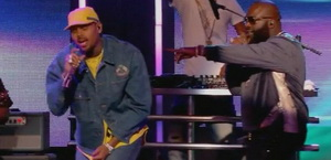 Rick Ross & Chris Brown Perform On Jimmy Kimmel
