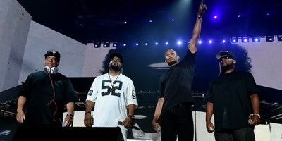 N.W.A Reunites With Dr. Dre At Ice Cube's Coachella Set