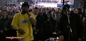 Proof freestyle at London Arena 2001