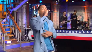 "Will Smith Perfoming Summertime  On ""The Late Show"""