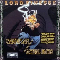 Lord Finesse – Gameplan / Actual Facts (1996) (VLS)