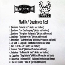 Madlib – Madlib / Quasimoto Reel (2002)