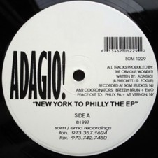 Adagio – New York To Philly The EP (1997)