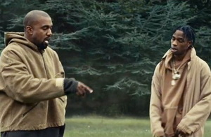 Travis Scott ft. Kanye West – Piss On Your Grave