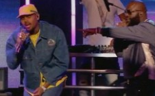 Rick Ross & Chris Brown Perform On Jimmy Kimmel