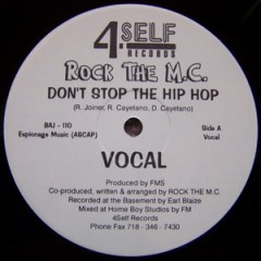 Rock The M.C. – Don't Stop The Hip Hop (1996)