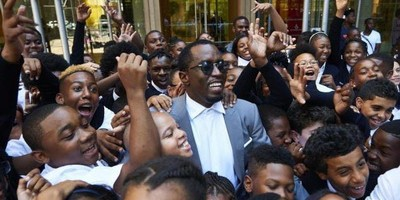 Puff Daddy Welcomes Students To His New Charter School