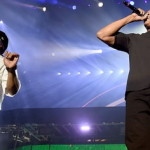 Dr. Dre & Ice Cube Rock The Stage At Drake's L.A. Show