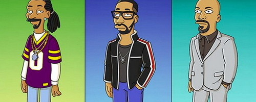 "Snoop Dogg, RZA & Common Get Cartoonified For ""The Simpsons"" Special"