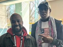 """Dennis Rodman Wants To """"Make History"""" With Kanye West"""