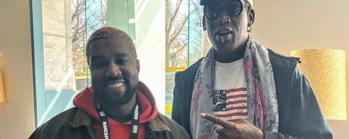 "Dennis Rodman Wants To ""Make History"" With Kanye West"