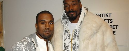 Kanye West Doesn't Want Any Smoke With Snoop Dogg — Check The T-Shirt