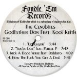 The Cenubites (Godfather Don & Kool Keith) – The Cenubites (1995)